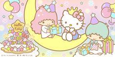 Little Twin Stars ☆ Happy Birthday Hello Kitty