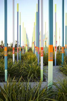 Ebb and Flow . Artist Louise Lavarack and Fitzgerald Frisby Landscape Architecture www.ffla.com.au