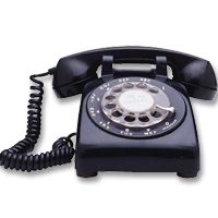 Telephones are one of the most important and useful modern inventions. Learn about telephone operation, creating a telephone network and tones and . Duck Wallpaper, Antique Phone, Telephone Call, Search People, Person Sitting, Cool Items, Landline Phone, Photo Props