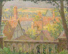 Henri Le Sidaner - Sur les toits, Gerberoy