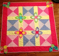 Penelope baby quilt design by Amy Hamberlin