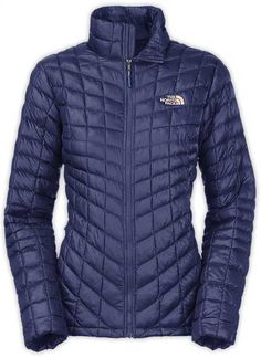 The North Face Thermoball Full Zip Jacket for Women in Patriot Blue CTL4-A1L