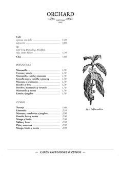 Art of the Menu: Orchard Japanese Restaurant Menu, Restaurant Menu Design, Darjeeling, Layout Design, Logo Design, Graphic Design, Chai, Menu Layout, Digital Menu