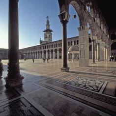 La Grande Mosquée de Damas, Syrie