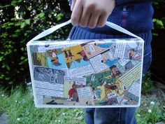 Upcycle a VHS video case into a small purse