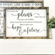 Jeremiah 29:11 For I know the plans I have for by JamesandAlice