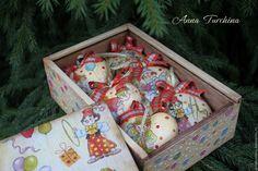 """Купить """"Клоуны приехали!"""" набор игрушек (6шт+короб) - разноцветный, Новый Год, подарок на новый год"""