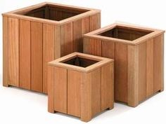 Jardiniere bois bac a fleurs, direct import Wood Pallet Planters, Cedar Planters, Wood Planter Box, Outdoor Planters, Wood Pallets, Outdoor Decor, Wood Shoe Rack, Furniture Sofa Set, Bois Diy
