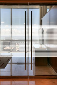 mini blind for glass doors