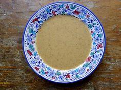 Broccolo Romano Soup with Jerusalem Artichokes