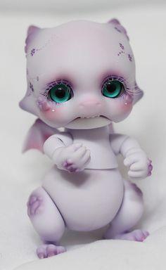 """shimiro-kestrel: """"BJD Aileen doll Violet Body Blush + Face up Commission by Light Limner (par Light Limner) """""""