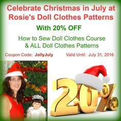 20% off store wide with coupon code JollyJuly valid until July 31, 2016.