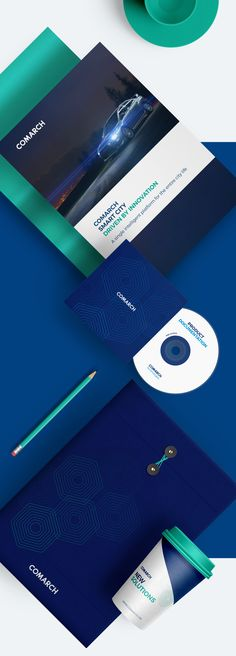 Comarch - Corporate Identity - Redesign Concept on Behance