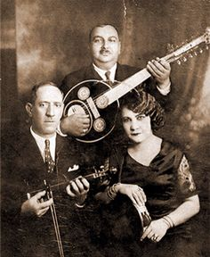 One of a kind voice: Greek Rembetika singer Roza Eskenazi and band. Greek Blue, Greek History, Henry Miller, Greek Music, Music Is Life, Athens, Falling In Love, The Twenties, Istanbul