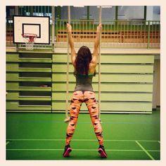 Six Deuce Fitness Leggings - Camo Orange.  www.sixdeuce.com www.sixdeuce.pl