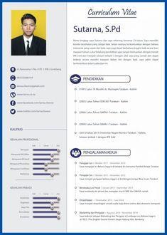 Format Resume Yang Menarik Resume Format Riwayat Hidup Cv Kreatif Creative Cv Template