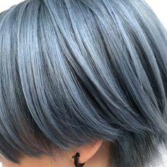 MIYOKO/DaB/ショートヘア/ウルフヘア/ケアブリーチさんはInstagramを利用しています:「. Miyuちゃんピンクアッシュに💖💖💖 . ピンクとパープルとグレーがうすーく混ざったような おすすめカラーです💖💖✨ . #dab_miyoko #ブリーチカラー #bleachcolor #ピンクアッシュ #pinkashhair #pinkhair #ピンクパープル…」 Human Photography, Blue Hair, Dyed Hair, New Look, Short Hair Styles, Hair Makeup, Hair Cuts, Hair Color, Hair Beauty