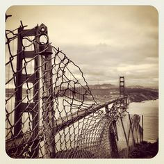 Crazy perspective of Golden Gate.