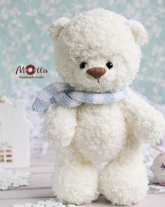Mesmerizing Crochet an Amigurumi Rabbit Ideas. Lovely Crochet an Amigurumi Rabbit Ideas. Crochet Bear, Cute Crochet, Crochet Animals, Crochet Dolls, Amigurumi Toys, Amigurumi Patterns, Yarn Dolls, Teddy Bear Toys, Knitting Charts
