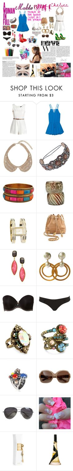 """""""mable x chelsea rompers"""" by dani-elle ❤ liked on Polyvore featuring Paule Ka, AX Paris, Mason's, Charlotte Olympia, Dorothy Perkins, Deepa Gurnani, Forever 21, Guide London, EB by Erickson Beamon and WGACA"""