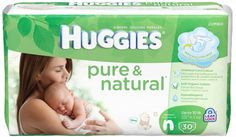 Huggies Pure & Natural Diapers, Only $5.62 at Target!