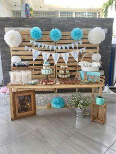 34 Ideas baby shower cake woodland dessert tables for 2019 Baby Shower Decorations For Boys, Boy Baby Shower Themes, Baby Shower Cakes, Birthday Party Decorations, Baby Shower Parties, Baby Boy Shower, Birthday Parties, Party Themes, Baby Boy Baptism