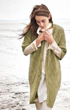 Lana Grossa LONGWESTE Cool Wool Alpaca - FILATI CLASSICI No. 11 - Modell 13 | FILATI.cc WebShop