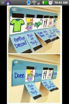 Children's chore list