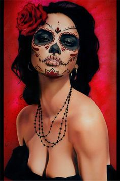 Black Market Art Company | Isabella Muerta Art Print | Daniel Esparza Artwork | The Atomic Boutique.com