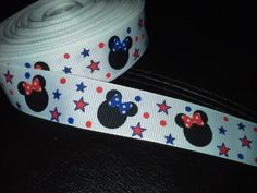 7/8 grosgrain printed ribbon  5 yards  by RockinRibbons on Etsy, $7.00