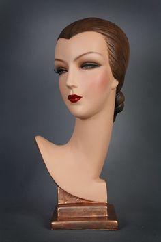 Deco Mannequin Bust