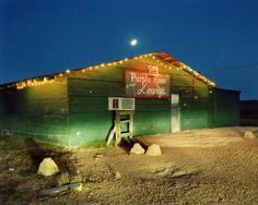 The Purple Rain Lounge. Duncan, Mississippi. 1989. Photograph:  Birney Imes-from Juke Joints