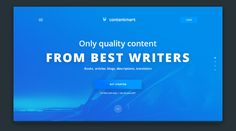 Contentmart connects thousands of verified copywriters and clients all around the world.