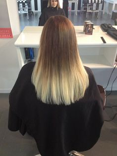 1/2 tape extensions (short) and balayage colours.