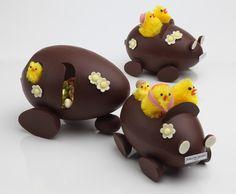 L'œuf en chocolat - Sébastien Gaudard Easter Sunday drive