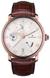 Blancpain Villeret Demi-Fuseau Horaire référence 6665-3642-55B