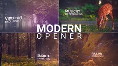 Modern Opener (Special Events) #Envato #Videohive – After Effects Templates