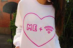 me + wifi = ♡