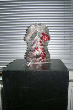 Lijf beeld - kunsthars (model Tiffany)
