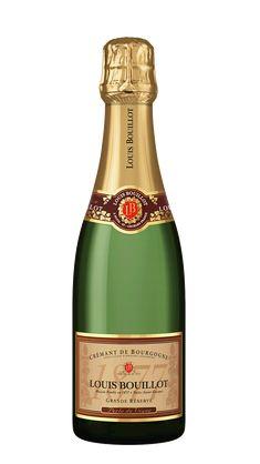 Louis Bouillot Crémant de Bourgogne Brut - Vinklubben Pinot Noir, Champagne, Bottle, Drinks, Wine, Liquor, Drinking, Beverages, Flask