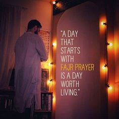 A day that starts with fajr namaz is a day worth living Alhamdulillah Alhamdulillah, Hadith, Fajr Namaz, Heart Melting Quotes, Mosque Architecture, What A Beautiful Day, Beautiful Mosques, Allah Love, Prayer Quotes