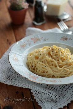 Pasta cacio e pepe cremosa ricetta veloce