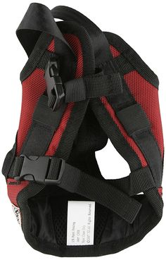 Small Dog Safety Harness in Red *** Quickly view this special dog product, click the image : Dog harness Dog Harness, Dog Leash, Pet Store, Small Dogs, Pet Supplies, Pets, Image Dog, Dog Safety, Dog Collars