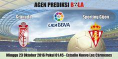 Prediksi Bola Granada vs Sporting Gijon 23 Oktober 2016