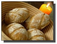 Dalamánky ze staršího chleba Ciabatta, Dumplings, Pizza, Bread, Baking, Food, Meal, Patisserie, Brot