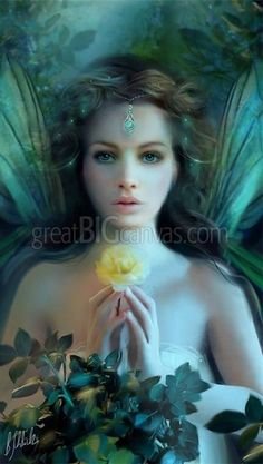 Faerie Of Flowers