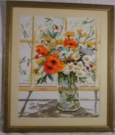 Flowers by the window - Lanarte XI View Photos, Glass Vase, Window, Flowers, Painting, Home Decor, Decoration Home, Room Decor, Windows