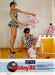 Billy McKenzie and Martha Ladley of The Associates in The Face 1982 by bloomfield and george, via Flickr