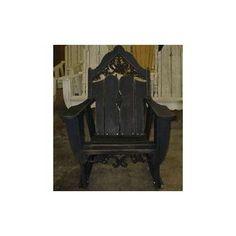 Uwharrie Veranda Rocking Chair Finish: B.T. Mauve Wash