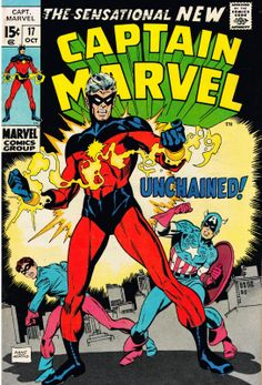 Cap'n's Comics: New Comic by Gil Kane!!! First Cap'n Marvel!!!